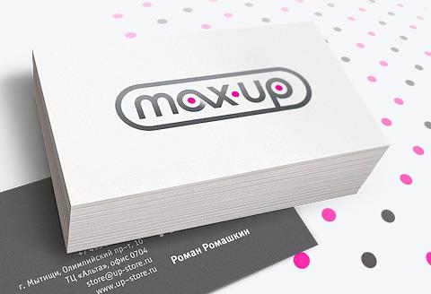 Фирменный стиль MAX-UP
