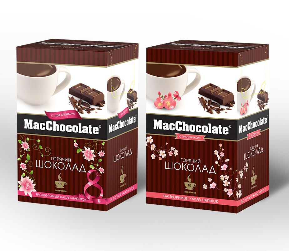 Упаковка MacChocolate к 8 марта 1